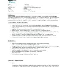 Sample Resume For Senior Logistics Manager. Sample Resume Logistics ...
