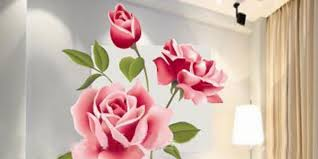 majestic design rose wall decor decals to decorate your bedroom easy art ideas wild gold