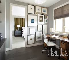 office painting ideas. more gray paint color ideas home office with dark wood floor and desk painting e