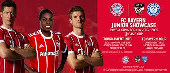 2018 Munich Showcase Bayern - Junior Fc