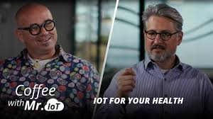 Coffee with Mr. IoT: Kerry Sims–IoT for your health - YouTube
