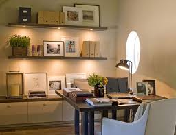 home office design decorate.  Office Home Office Decorating Ideas  Round Window Floating Bookcases With Under  Mount Lighting Staging Small Design Writing Desk How To  In Home Office Design Decorate S