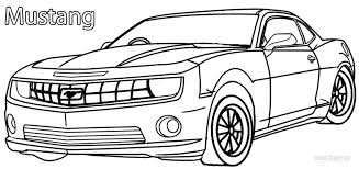 Small Picture Printable Mustang Coloring Pages For Kids Cool2bKids