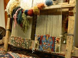 carpet loom. oriental-rug-loom carpet loom o
