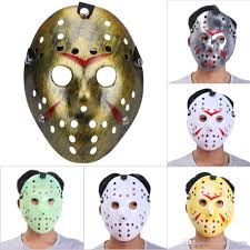 Mask Designs Full Face 11 Designs Archaistic Jason Halloween Full Face Antique Killer Mask Party Decoration Masquerade Masks Craft Party Favor Cosplay Cat Masks For