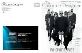 Bobby Pearce Costume Designer The Costume Designer Winter 2012 By Costume Designers