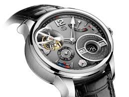 the inventive watchmakers in la chaux de fonds have also incorporated the equation of time