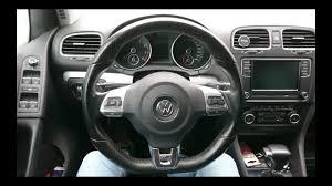 Multi-function <b>steering wheel</b> installation to <b>VW</b> Golf 6 - YouTube