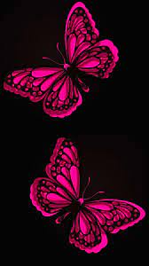 Mobile Wallpapers Pink Butterfly - 2021 ...