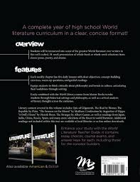 worldview essay high school curriculum amazon com world literature student 9780890516751 james p