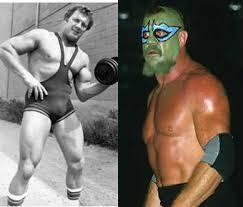 "Wrestling's Glory Days - Today's Fallen Wrestler Tribute Dewey Robertson  aka The Missing Link Real Name - Byron James John ""Dewey"" Robertson  February 28, 1939 - August 16, 2007 (Age 68) He"