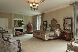 Michael Amini Bedroom Furniture Michael Amini Platine De Royale Lite Espresso 4 Pc Bedroom Set