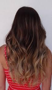 Dip Dye Dark Hair Blonde