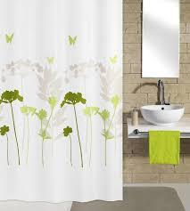 kleine wolke barcelona polyester shower curtain w1800 x h2000 green 5188 602 305 at victorian plumbing uk