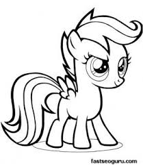 28 Collection Of My Little Pony Baby Rainbow Dash Coloring Pages