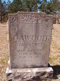 Iva Brewer Cawood (1901-1929) - Find A Grave Memorial