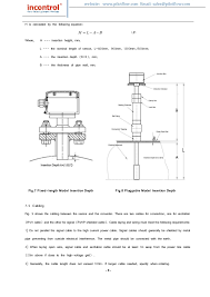 insertion type magnetic flowmeter instruction manual vmi series 12