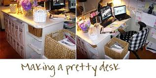 office desk decorating. Girly Office Decor Lovable Desk Ideas Furniture Pretty Feminine Decoration Small Decorating A