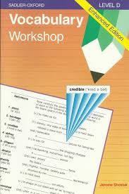 Vocab Answers Level D Vocabulary Workshop Level D Amazon In Jerome Shostak Books