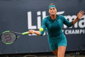Top ten player Sabalenka at Libéma Open ...