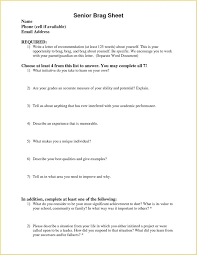 Navy Brag Sheet Template For Recommendation Letters And Quality
