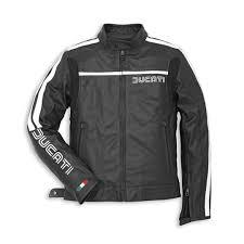 ducati leather jacket 80s black dainese