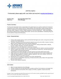 Controller Resume Example Accounts Receivable Sample Monster