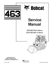 bobcat 463 wiring schematic wiring diagrams best bobcat 463 skid steer loader service repair manual s n 519911001 ab bobcat motor diagram bobcat 463 wiring schematic
