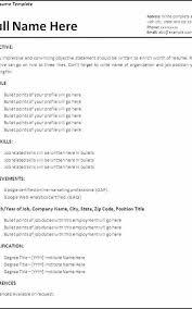 Resume Job Duties Examples Custom Job Resume Free Download Formatted Templates Example