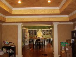 kitchen ceiling paintTray Ceilings  belliesvsbedsheets