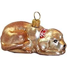 Unbekannt Hund Labrador Hellbraun Christbaumschmuck