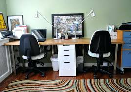 two person desk home office furniture. Two Person Desk Home Office Furniture Amazing In Small Remodel With