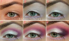 lovely pinky purple makeup tutorial for valentine s day