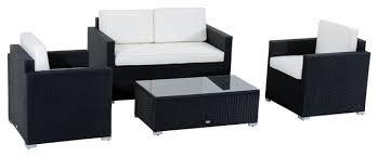 norlina 4 piece outdoor rattan sofa set