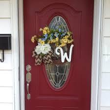 initial wreaths for front doorFront Doors Cool Welcome Wreaths Front Door Welcome Wreaths