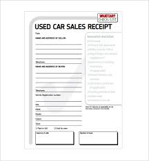 receipt template for car sale sample car sale receipt rome fontanacountryinn com
