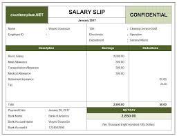 Salary Template