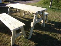 outdoor table bench set. picnic table and bench set outdoor d