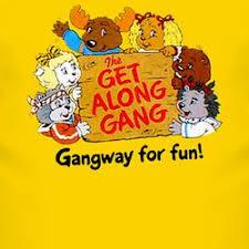 get along gang topcartoonsretromemorieschildhoodanimated