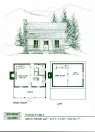 Small Log Cabin House Plans