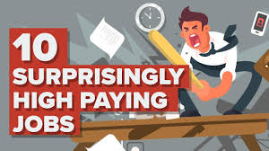 10 Surprisingly High Paying Jobs Youtube