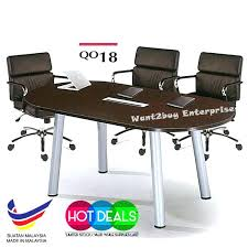 conference table set q series office system meeting round conference table set conference table and chair