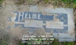 Bessie Myrtle Griffith Helme (1897-1984) - Find A Grave Memorial