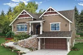 lovely sloping lot house plans 20 best garage plans for a sloping lot craftsman house plans