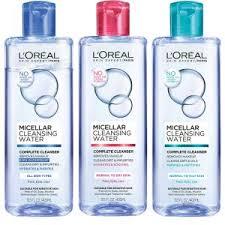 micellar water micellar cleansing water makeup remover l oreal paris skincare