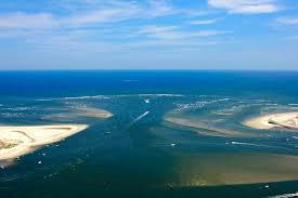 Corson Inlet In Strathmere Nj United States Inlet