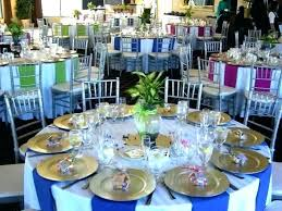 Round Table Settings For Weddings Round Table Setting Ideas Tilan Info