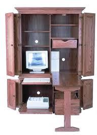 contemporary computer armoire desk computer armoire. Amish 51 Computer Armoire Throughout Desk Inspirations 0 Contemporary P