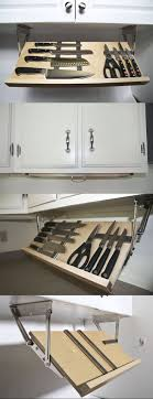 Kitchen Knife Storage 17 Best Ideas About Knife Storage On Pinterest Magnetic Knife