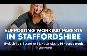 Free Childcare Advertising Thousands Of Staffordshire Parents To Benefit From 30 Hours Free